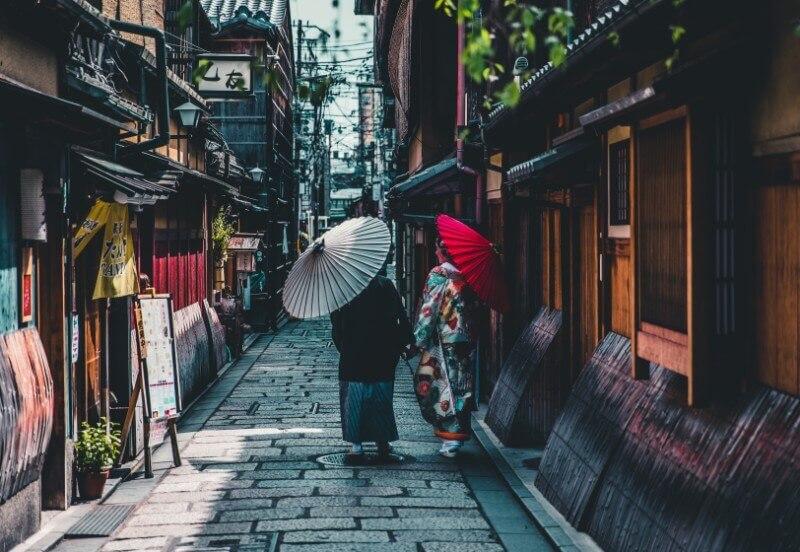 Kyoto traditional street