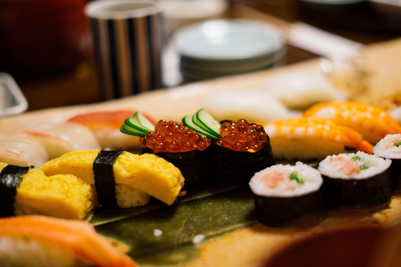 toyosu, sushi