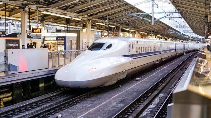 bullet train shinkansen