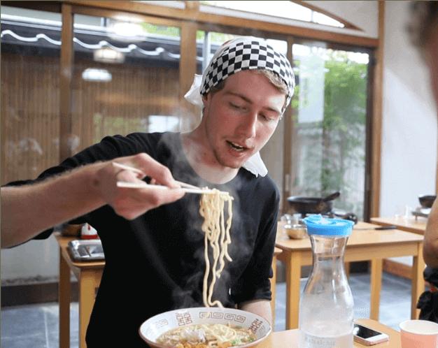 ramen, cooking class