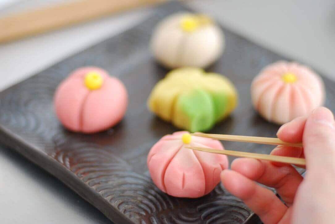 wagashi, cooking class