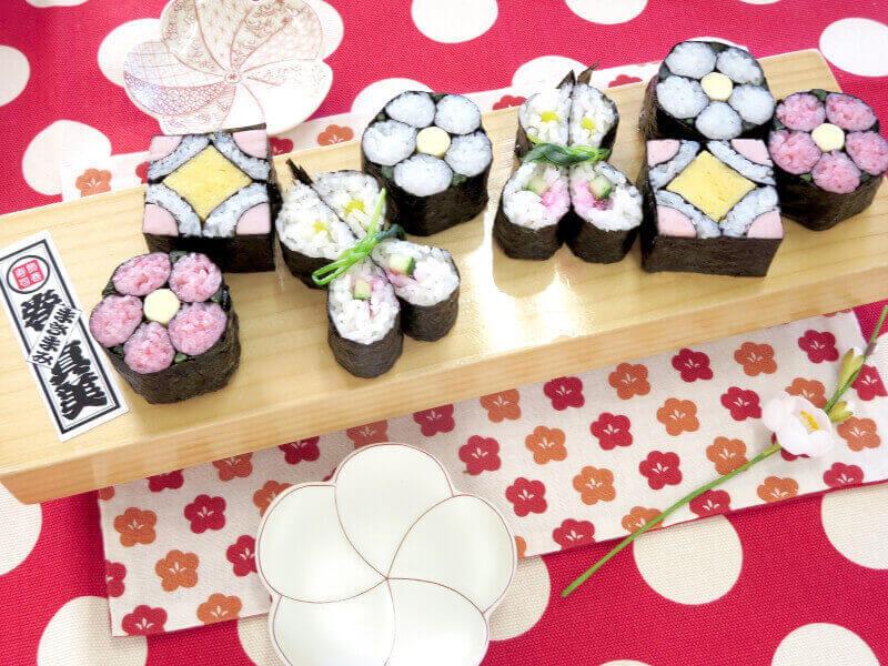 roll sushi making class