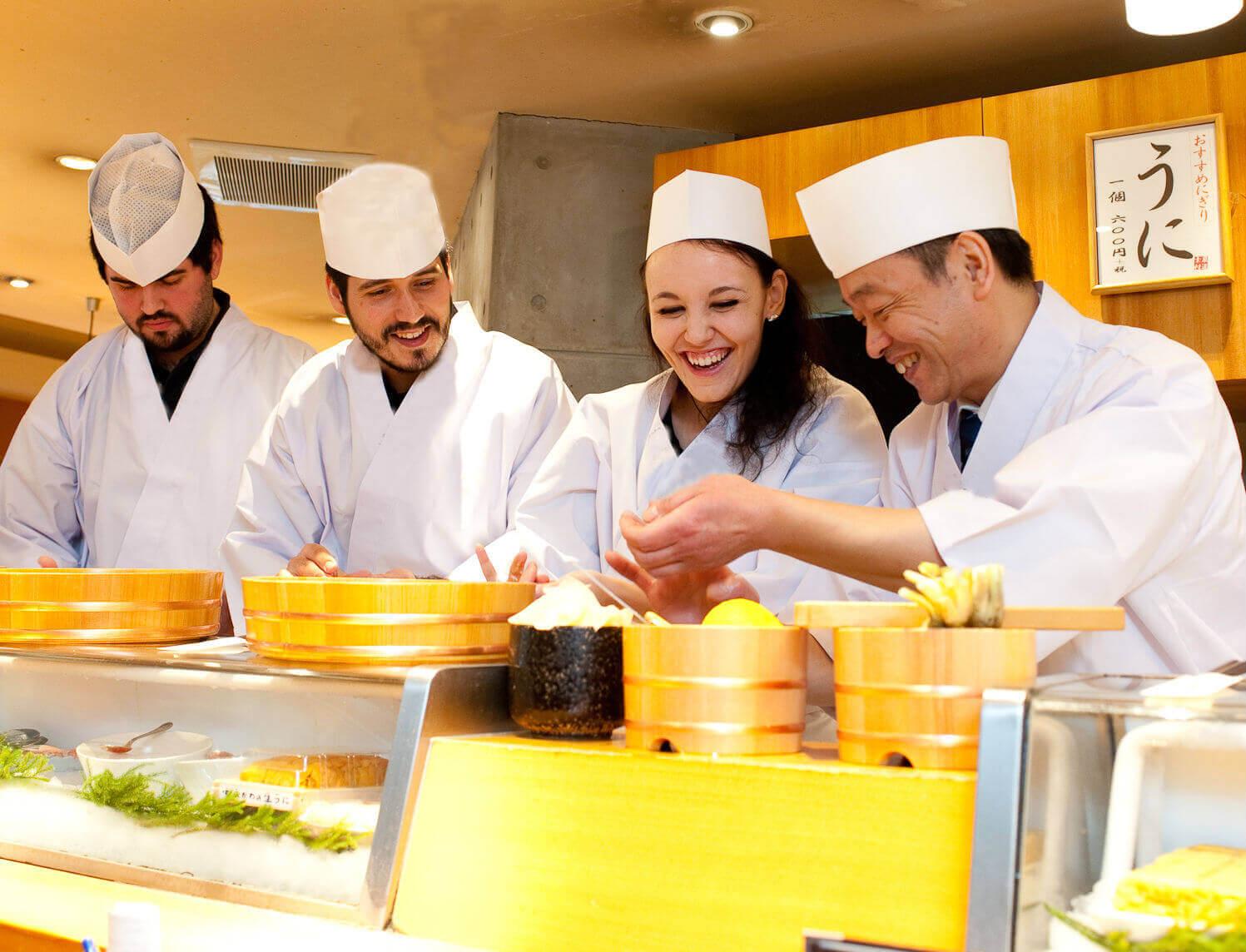 sushi. cooking class