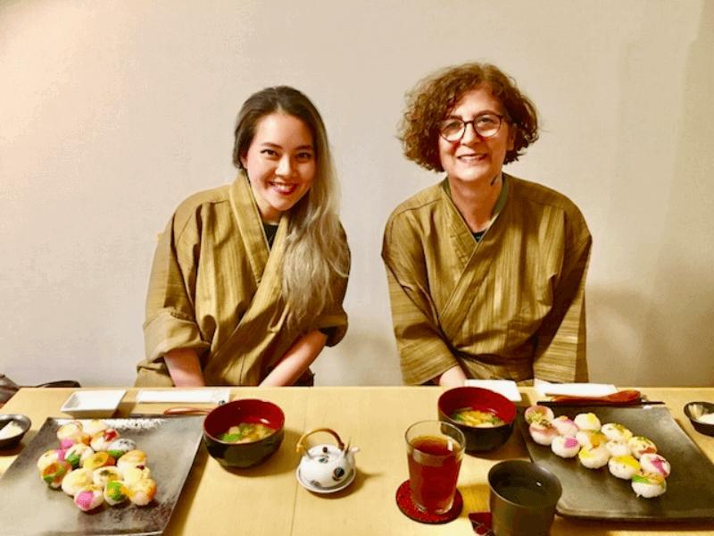 temari sushi, cooking class