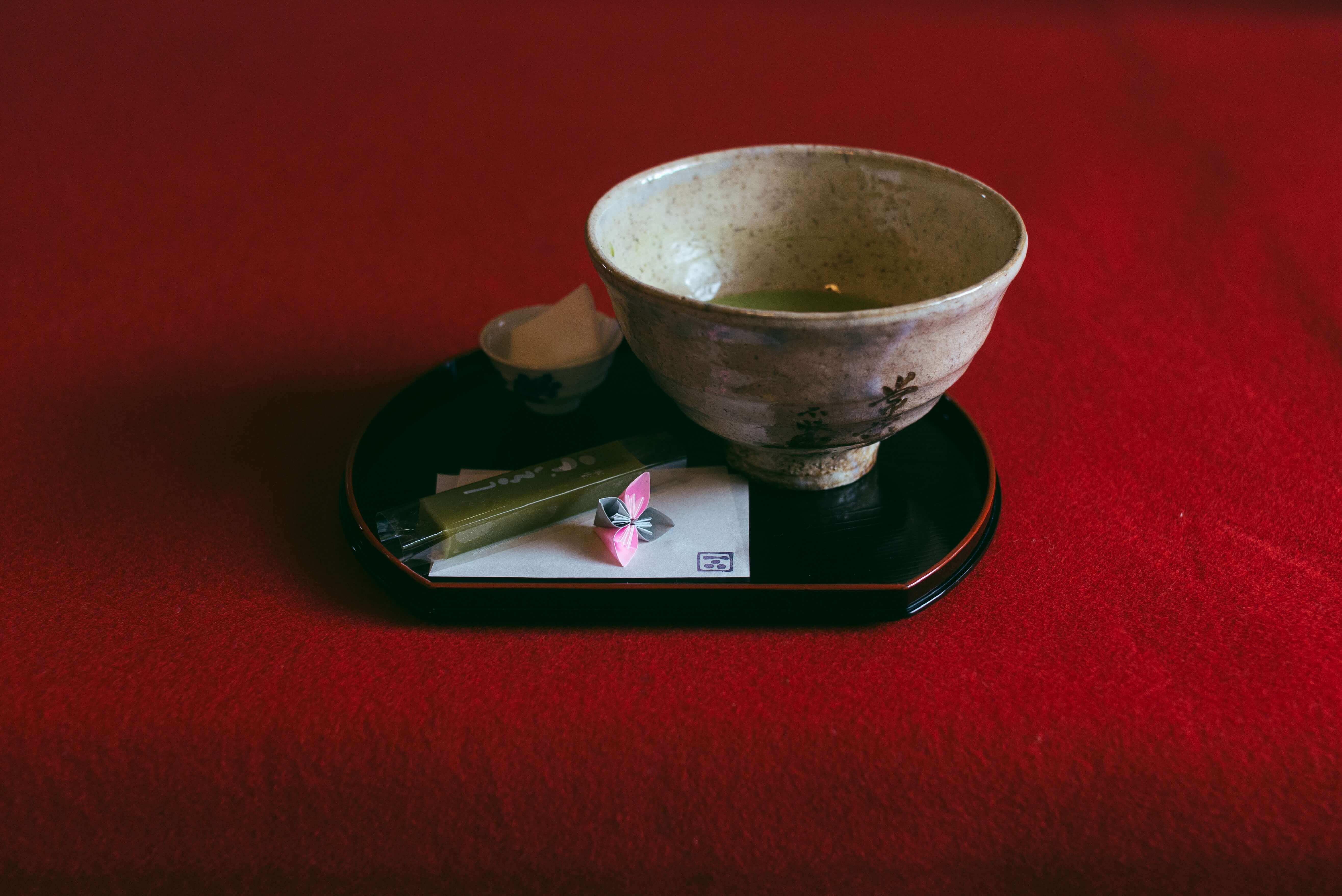 green tea, history