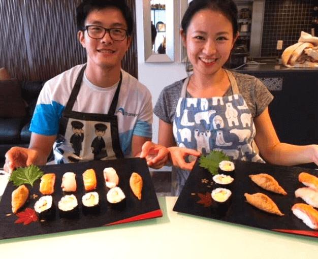 kyoto, sushi class