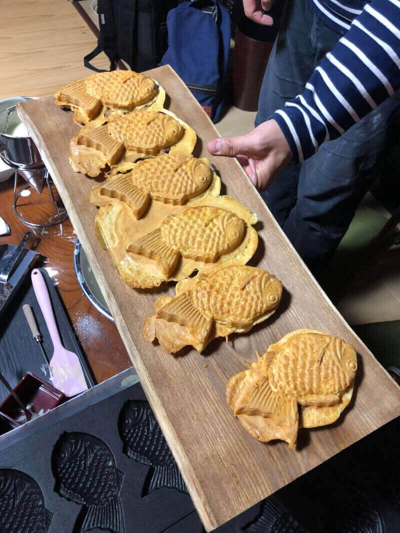 taiyaki cooking class