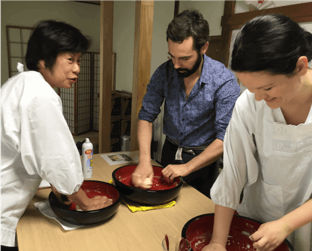 udon cooking class