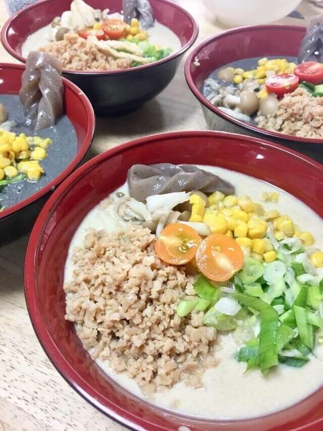 vegan ramen and gyoza class