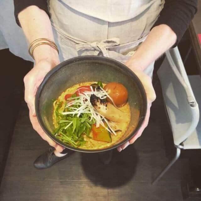 vegetarian ramen and gyoza class