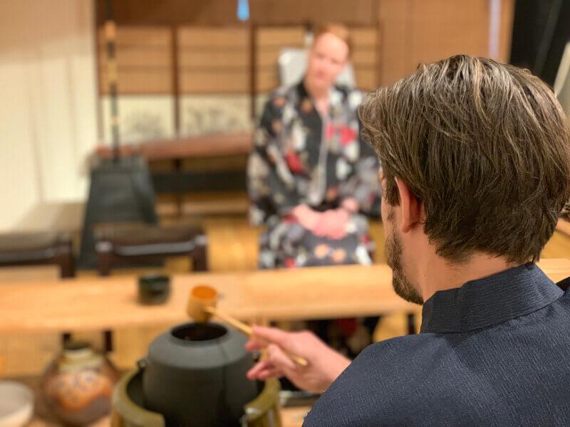 kyoto tea ceremony kimono
