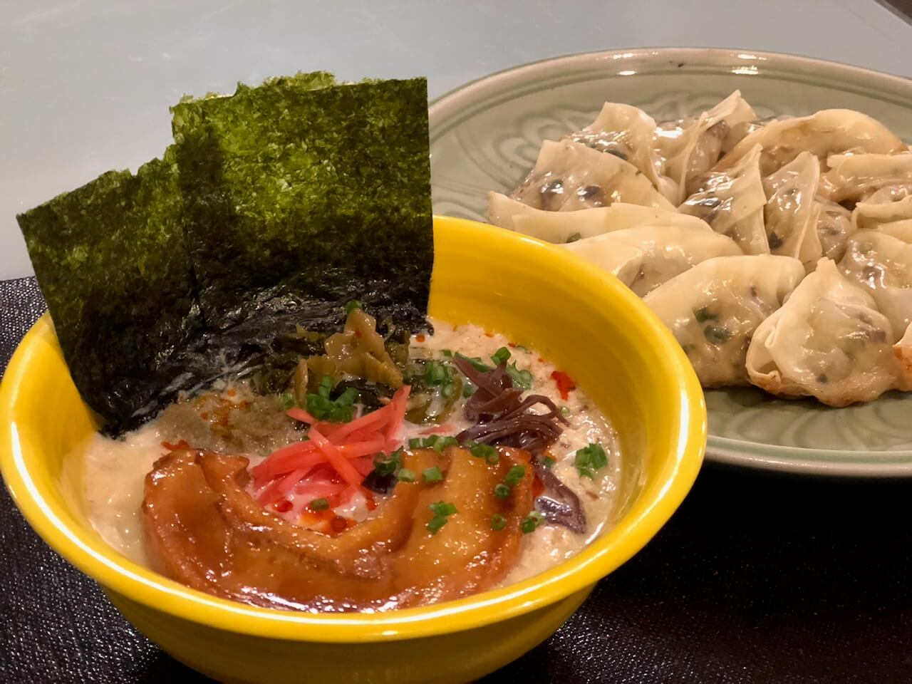 Make Your Own Noodles from Scratch ! Pan-fried Gyoza & Ramen Cooking Class