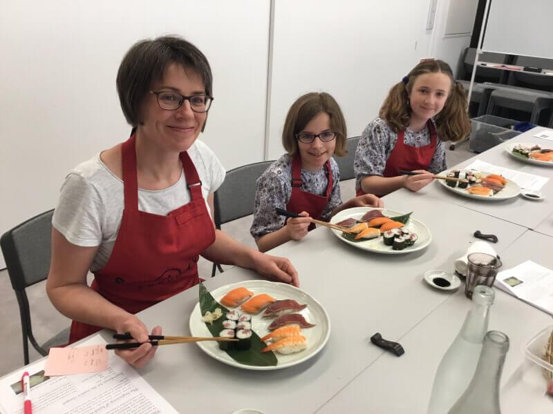 Sushi-making workshop