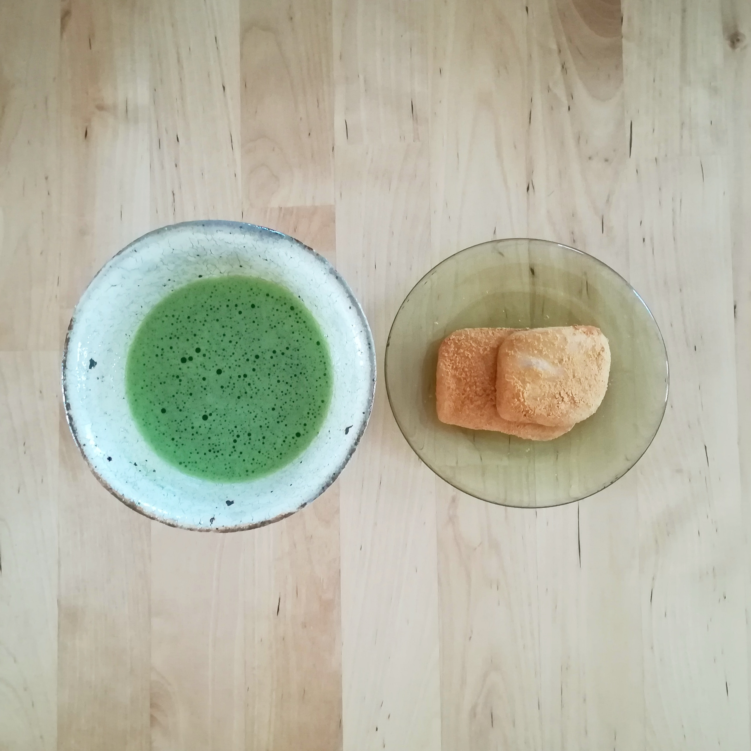 A casual vegan lunch plate + tea ceremony experience