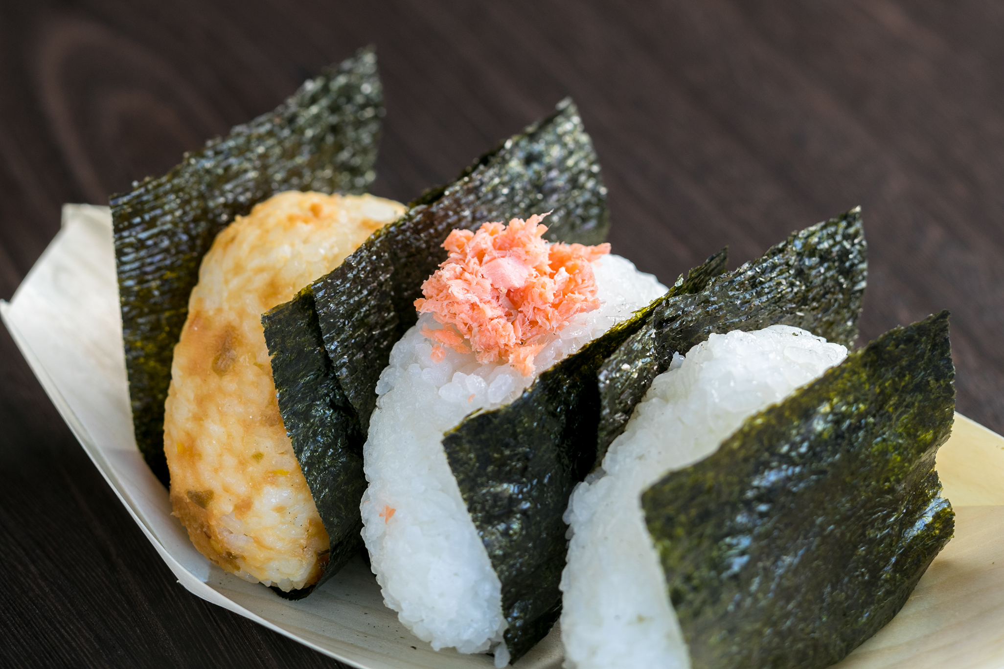 Make Riceball 'Onigiri' With Local Mom
