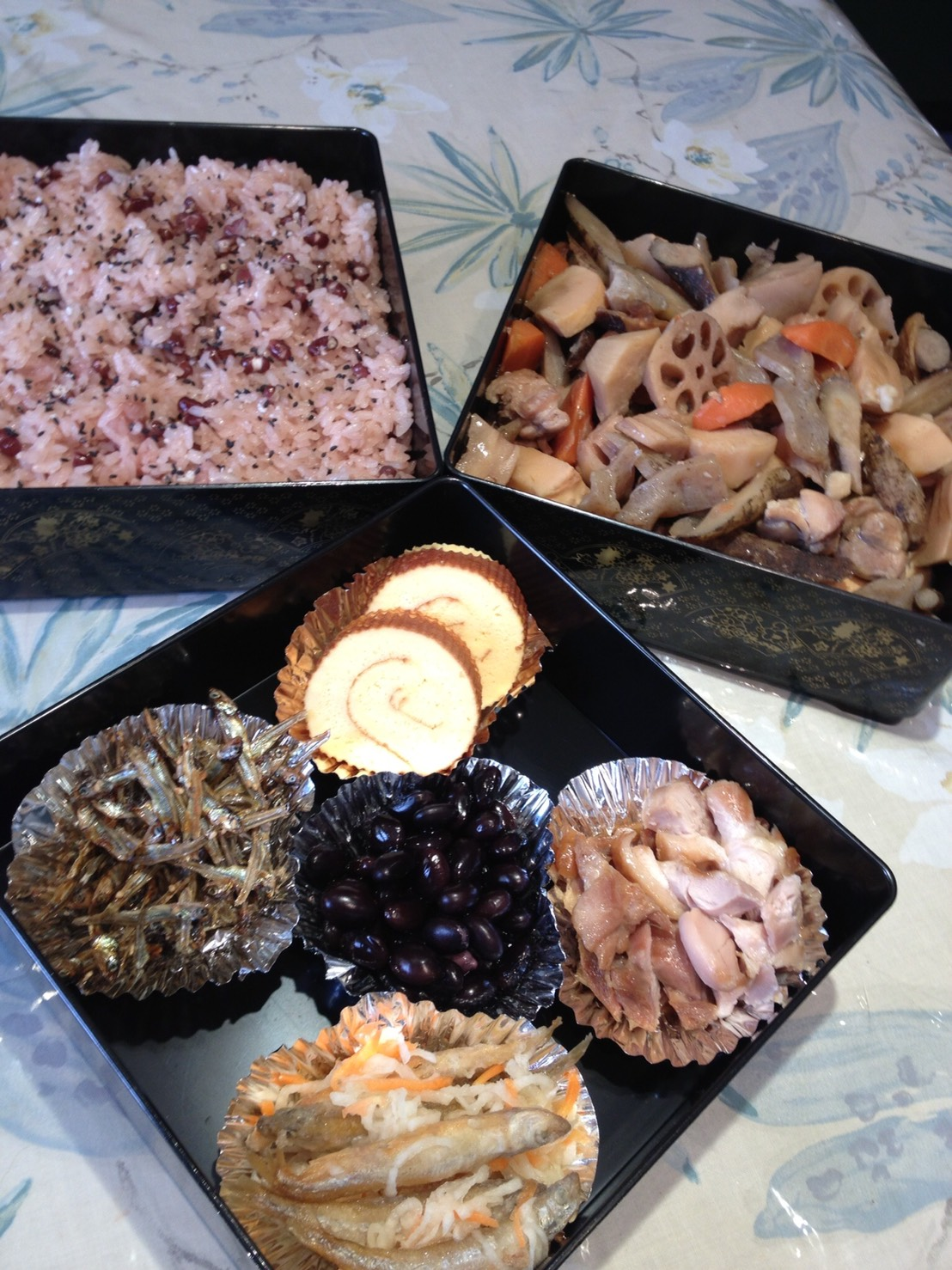 "Traditional Japanese cuisine ""Osechi"""