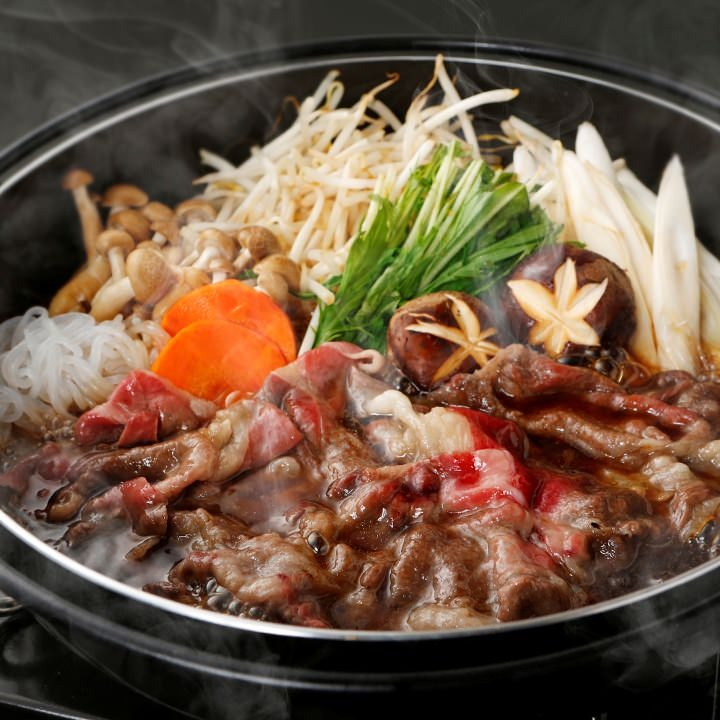 SUKIYAKI: Traditional Japanese Style Food with Selected Japanese Beef