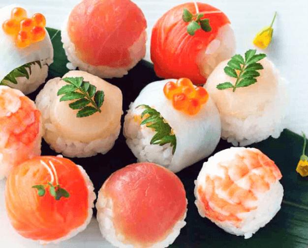 Sushi & Tempura couse with tea ceremony experience