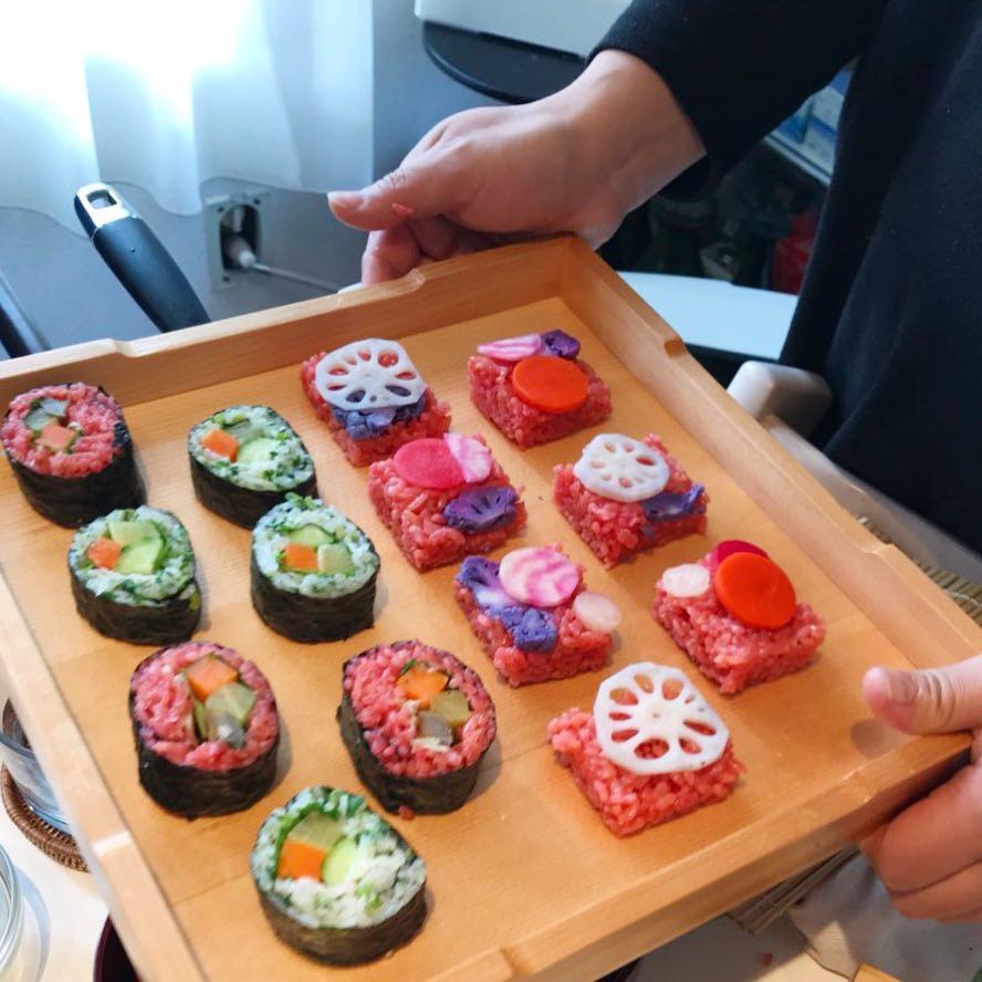 Let's make sushi rolls!