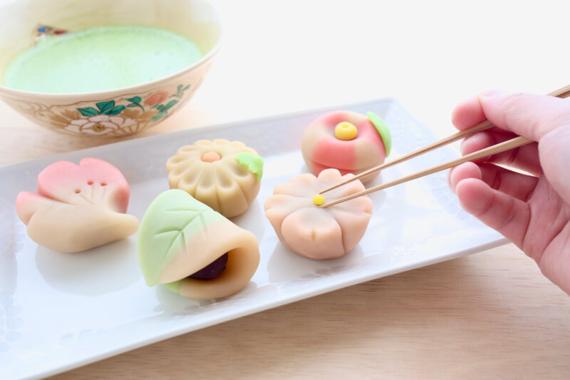 Learn Japanese Desserts (Wagashi) from a chef - with tea ceremony experience