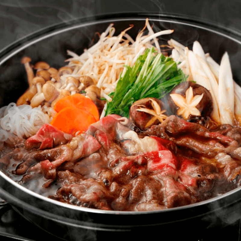 SUKIYAKI: Traditional Japanese Style Food