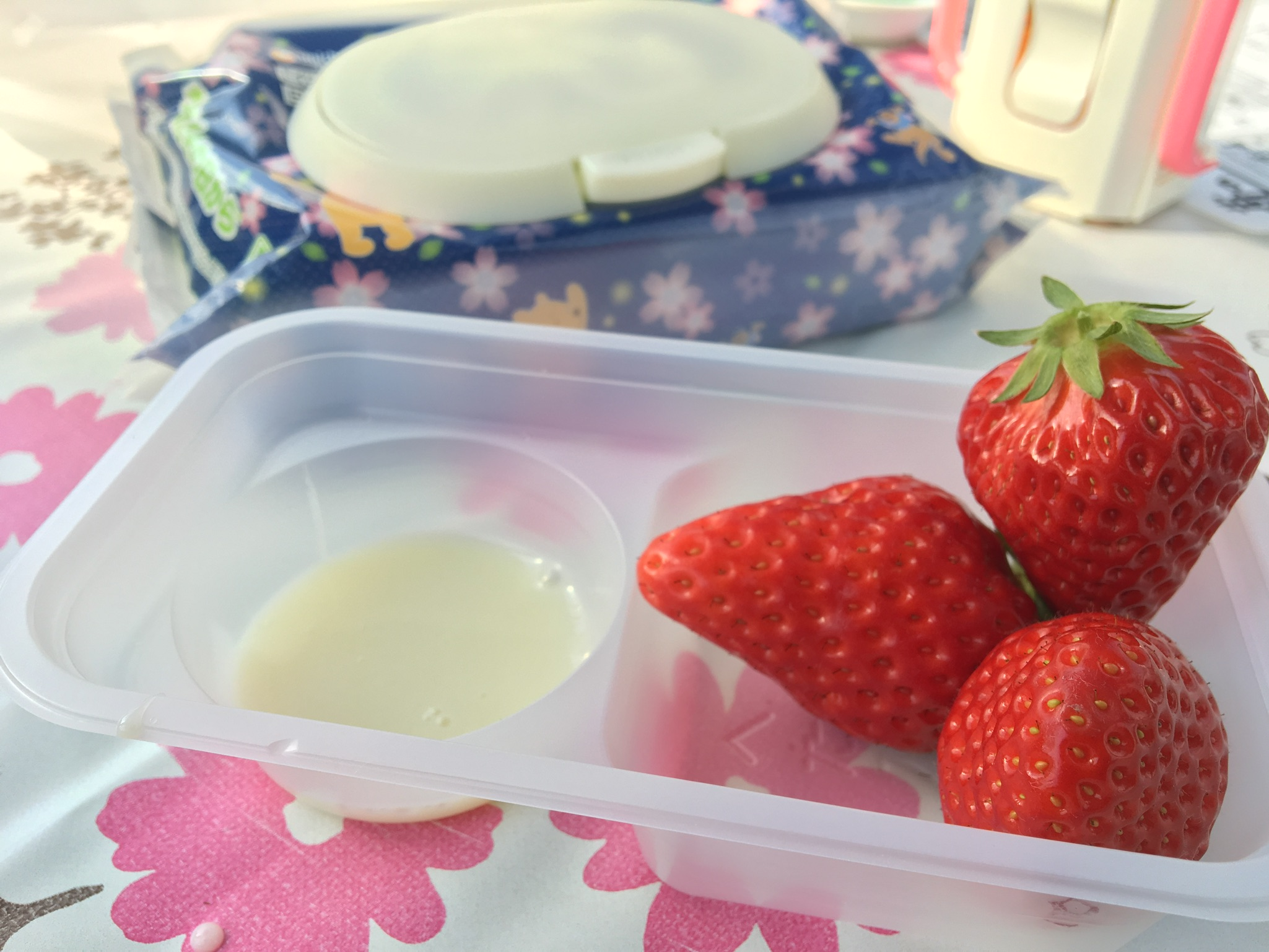 Strawberry Picking and Tea Time