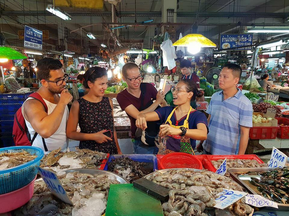 Traditional Thai Cooking at Siamese with Local Market Tour