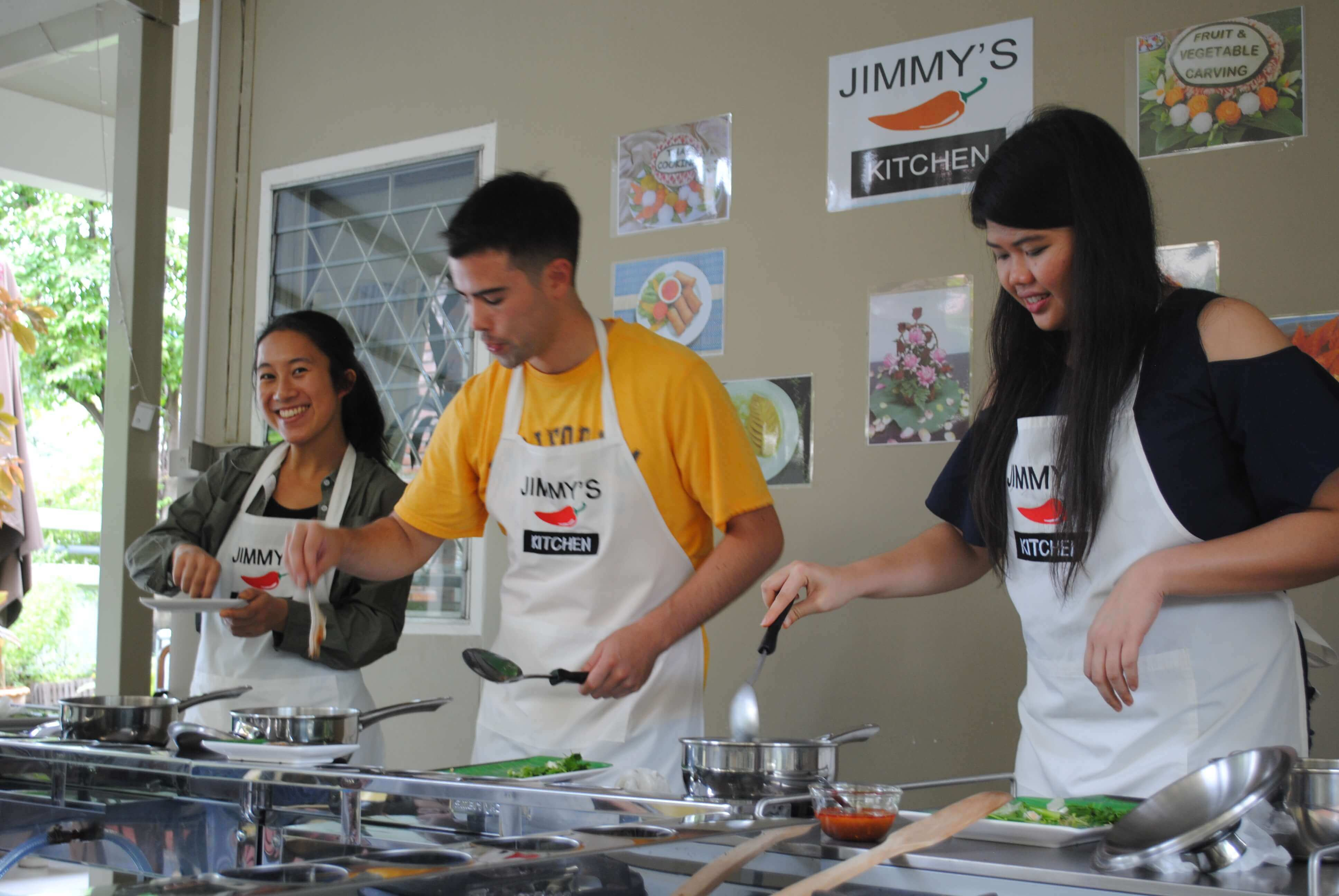 Thai Cooking and Fruit/vegetable Carving Class