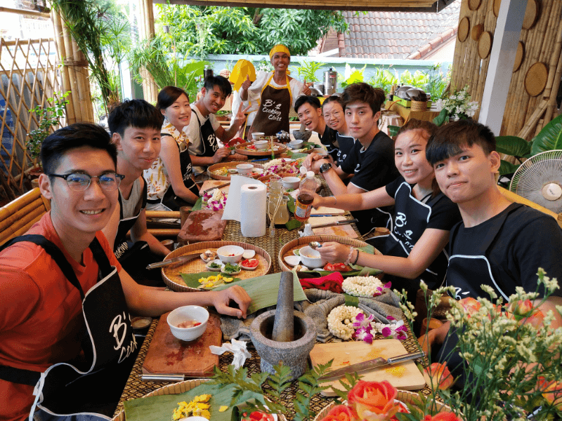Home Style Family Class with Food Carving and Market Tour