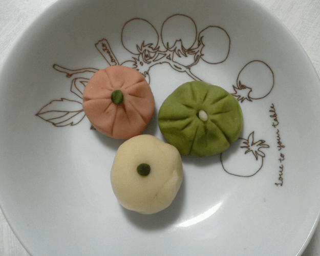 Wagashi(Japanese traditional sweets)making class