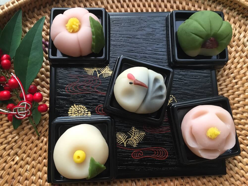 Japanese sweets Nerikiri