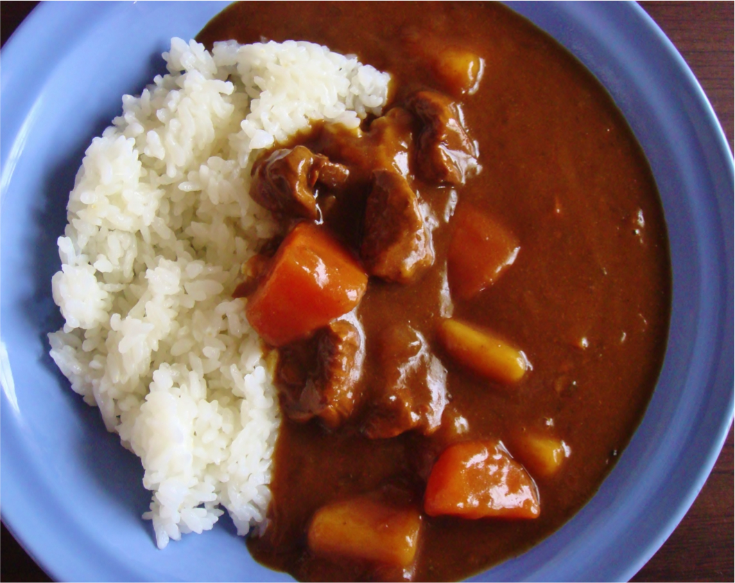 Curry rice!!