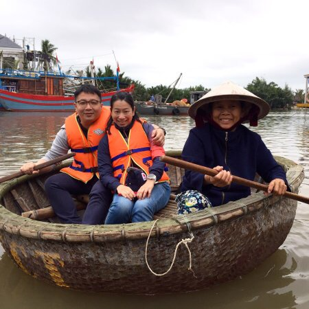 Hoi An Eco Cooking Class and Basket boat tour