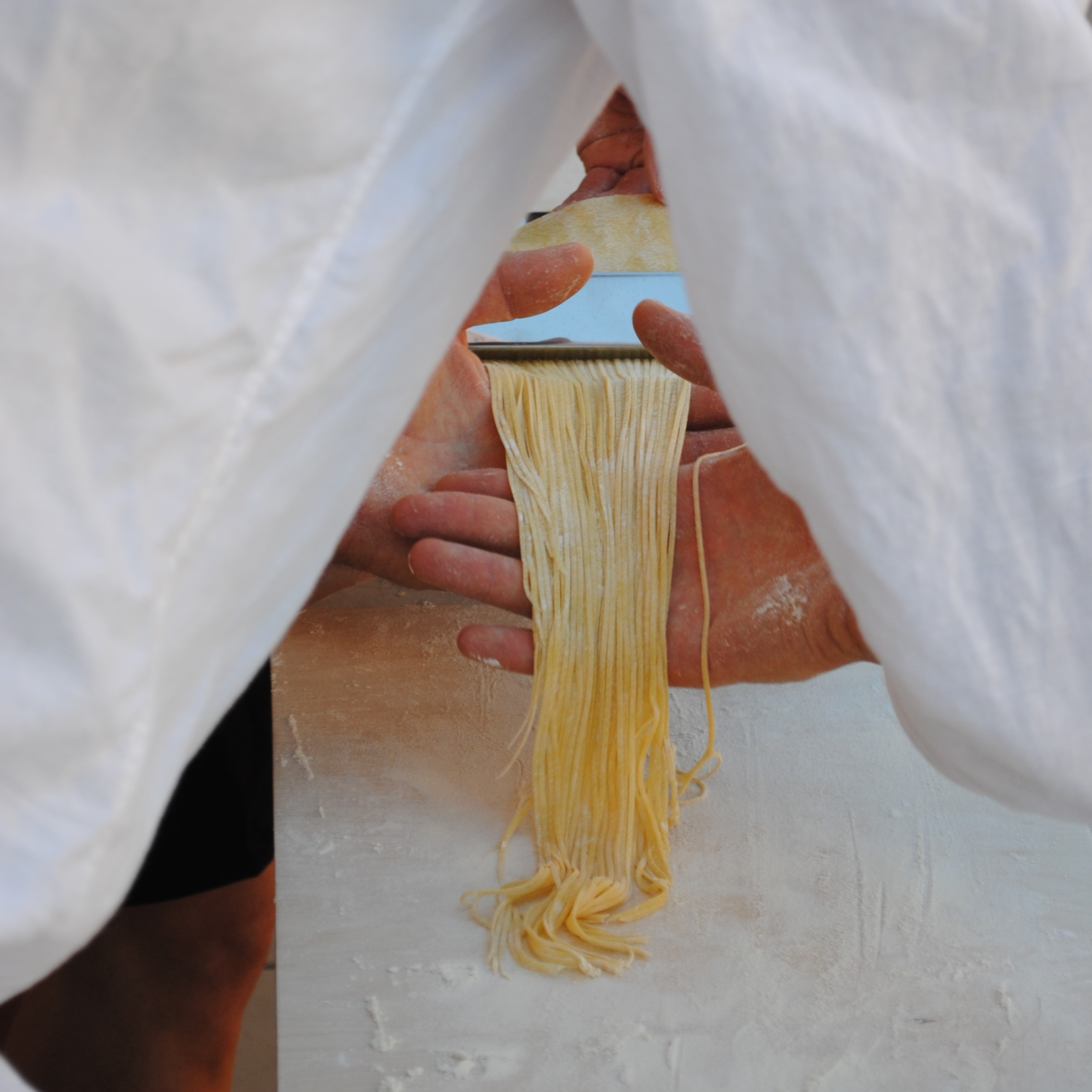 Rooftop Roman Pasta Making - Wine Tasting and Dinner