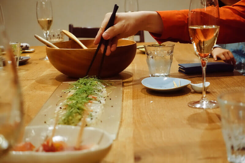 Special Washoku Dinner Course with Japanese SAKE