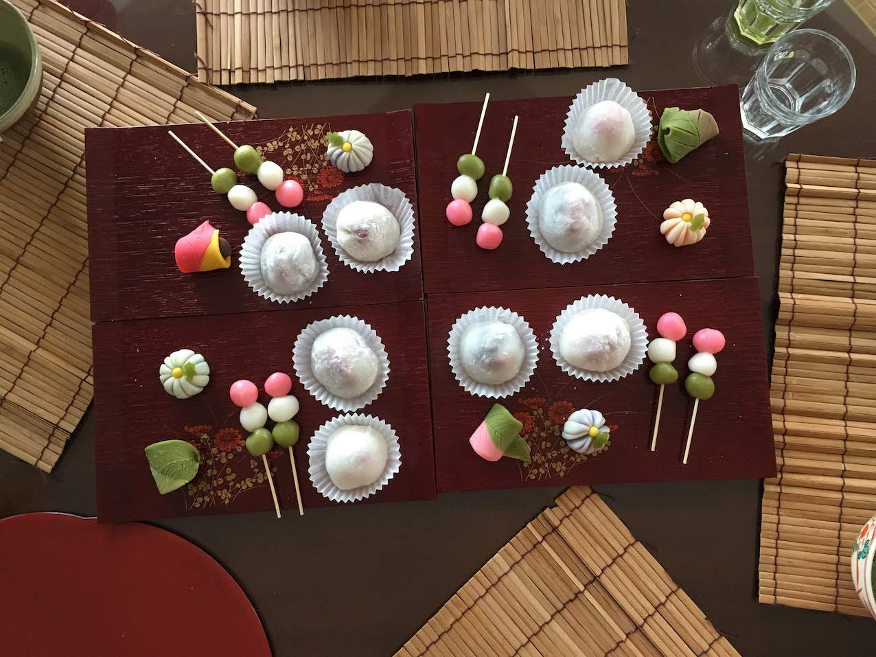 Mochi and Traditional Sweets Making Class with Tea Ceremony