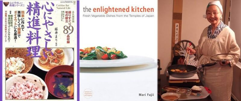 Shojin Cuisine, Japanese style vegan cooking workshop by Mari Fujii