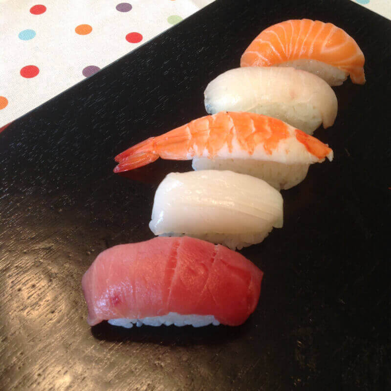 ★Opening Price by the end of April class ★ Sushi,Soup and Sweets set