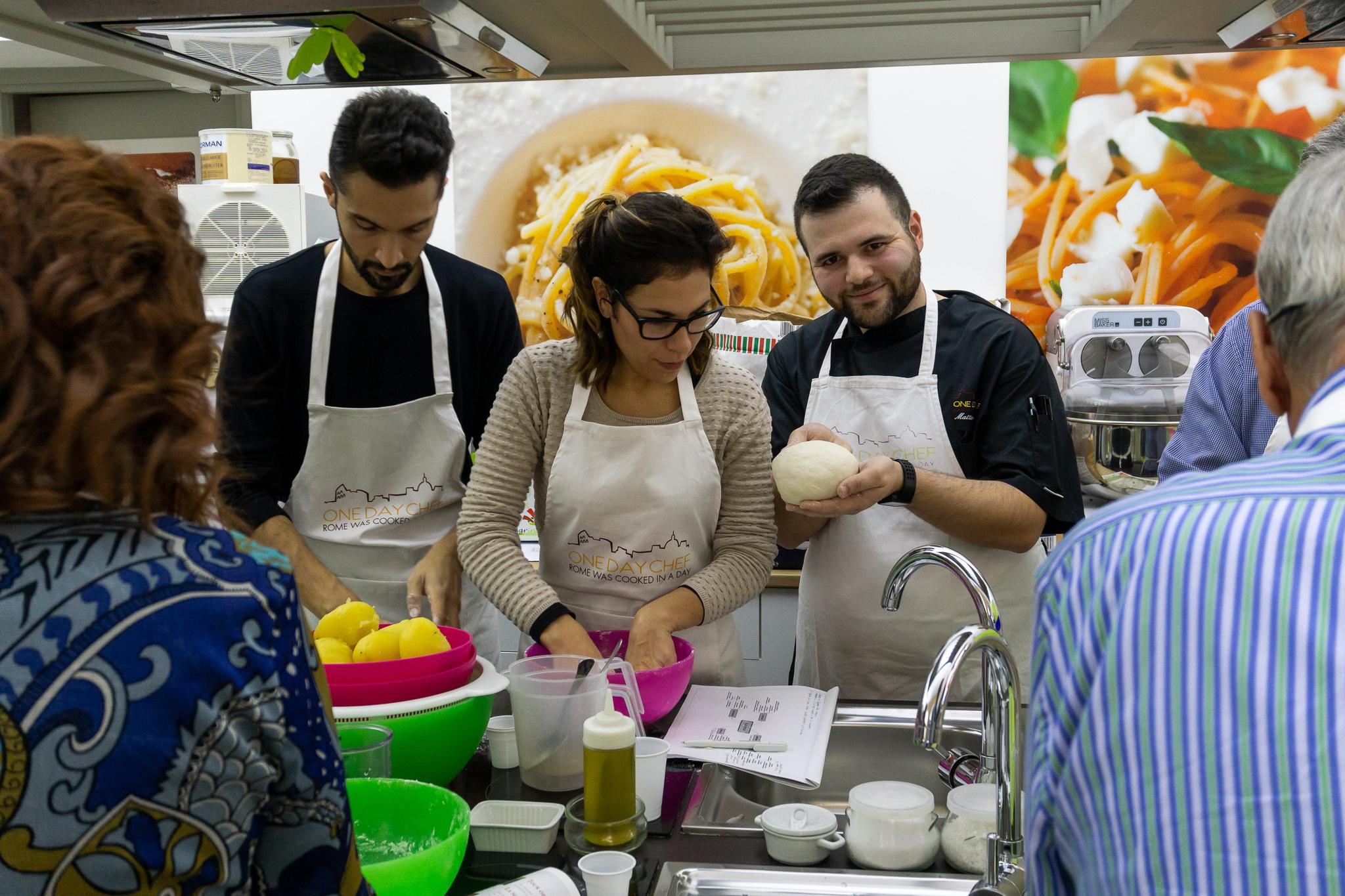 Ravioli and sauce making class