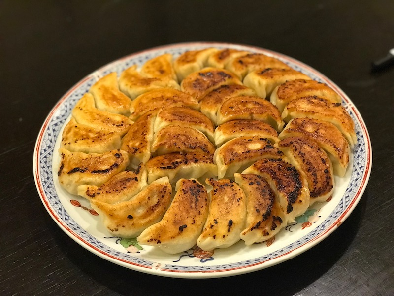GYOZA -JAPANESE DUMPLINGS FROM SCRATCH
