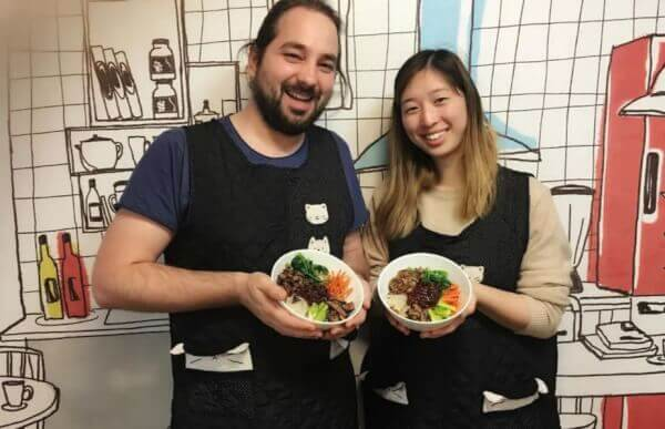 Korean Home Cooking Class Including 3 Beloved Korean Dishes and Local Market Tour