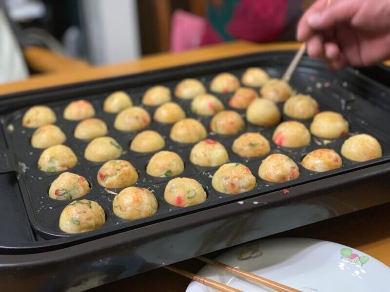 Takoyaki and Okonomiyaki Cooking Class