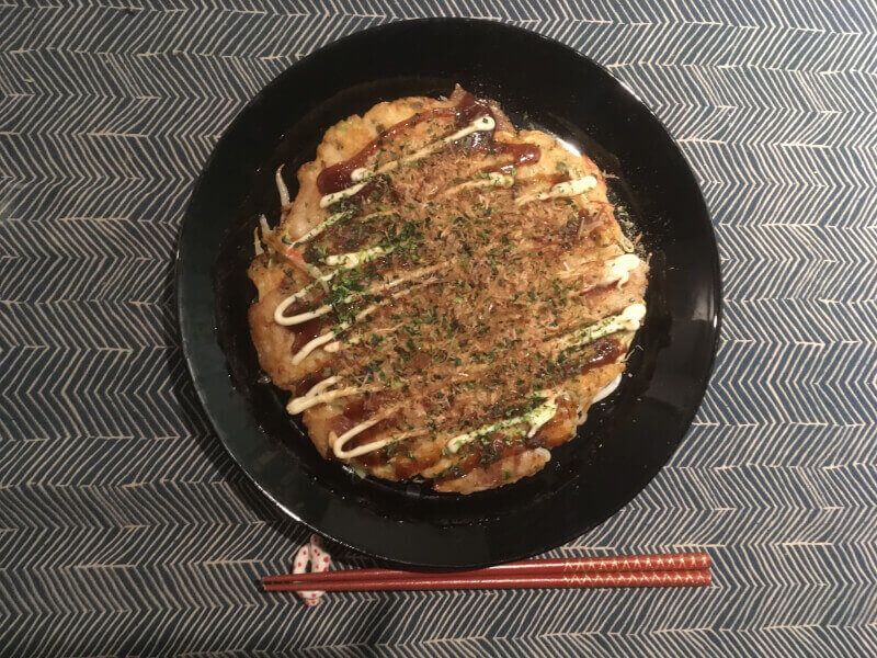 Let's go to grocery store & make Okonomiyaki!