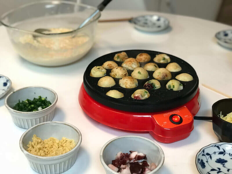 Takoyaki Party ~A classic Japanese home party~