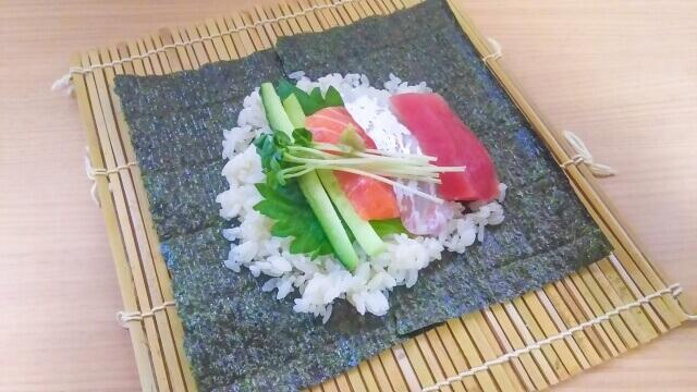 Homemade Temakizushi!