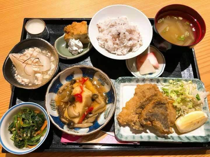 Old-fashioned mother's taste  Tokinoha lunch