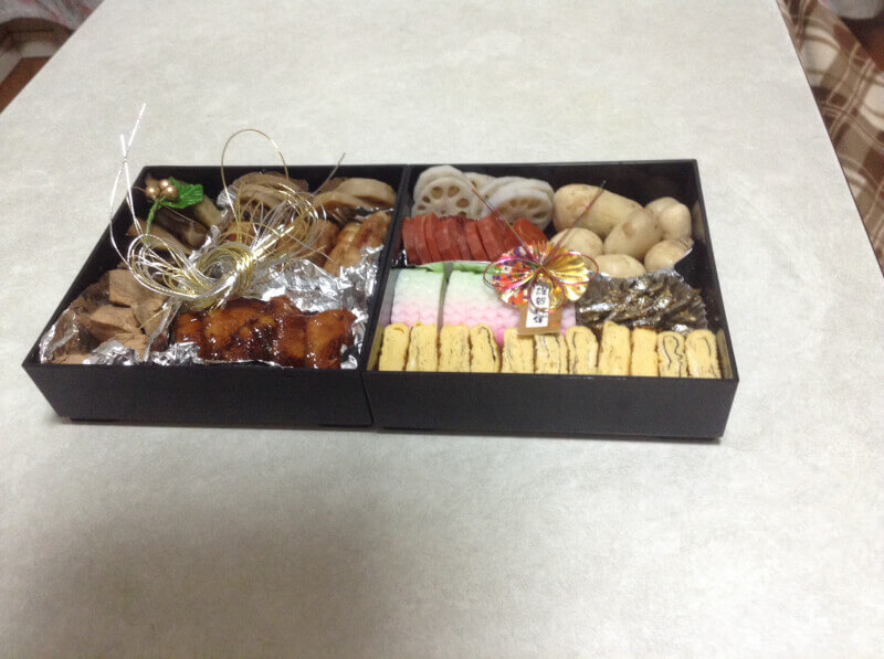 Japanese bento (box lunch)