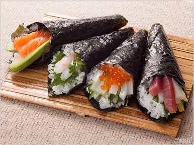 Enjoy sushi in your house