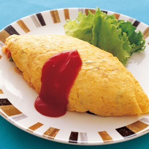 Omu-rice and Tonkatsu lesson