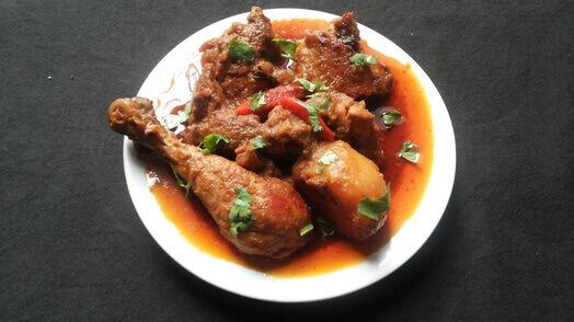 Homemade Indian food